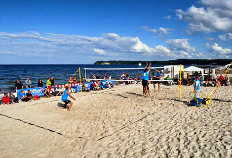 Beachvolleyball Binz
